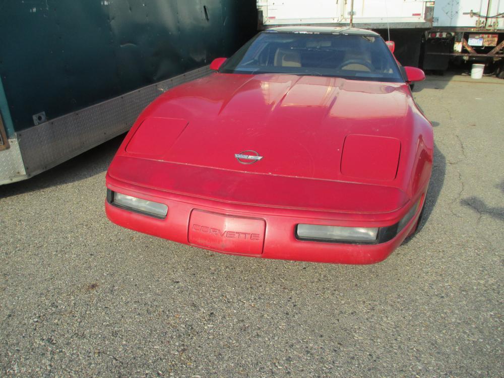 For Sale 1987 Corvette Coupe Parts Car Detroitcorvette Com