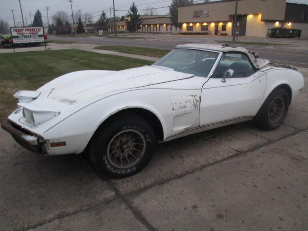 1974 Corvette Convertible Project, 350 L-48 4 Speed with Air Conditioning