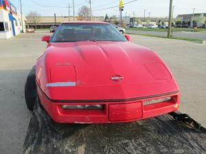 1990 Corvette Coupe Red Parts Car or Drag Car Project or ?