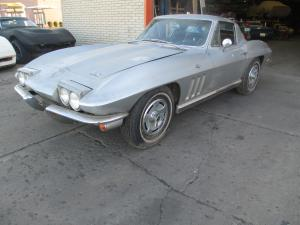 BARN FIND 1966 Corvette Coupe 327/300 Powerglide, A/C, PW, Original Barn Find PARTS CAR