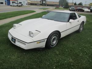 1986 Corvette Coupe White Parts Car