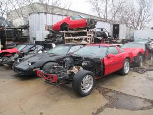 1984-1996 C4 Corvette Coupe Parts Cars