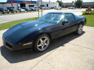 1985 Black Corvette Coupe