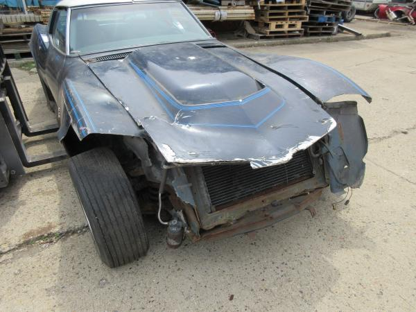1969 Corvette Coupe Black Parts or Project Car 350/350 4 Spd Trans, AC HD Radiator Black Interior with Headrest Seats